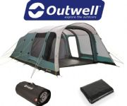 Outwell Avondale 6PA Tent 2020 (Inc: Carpet + Footprint)
